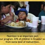 nutrition program in Ecuador