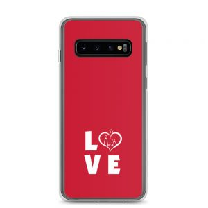 Samsun Case with LOVE slogan on it